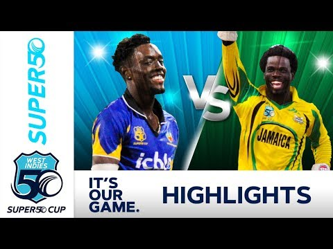 Shamar Springer In Form for Pride | Barbados vs Jamaica | Super50 Cup 2018 - Extended Highlights