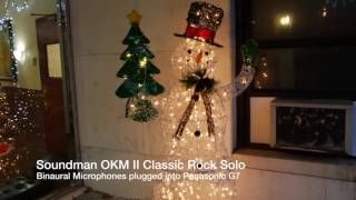Soundman OKM II Classic Rock Solo Binaural Microphones -1st Test