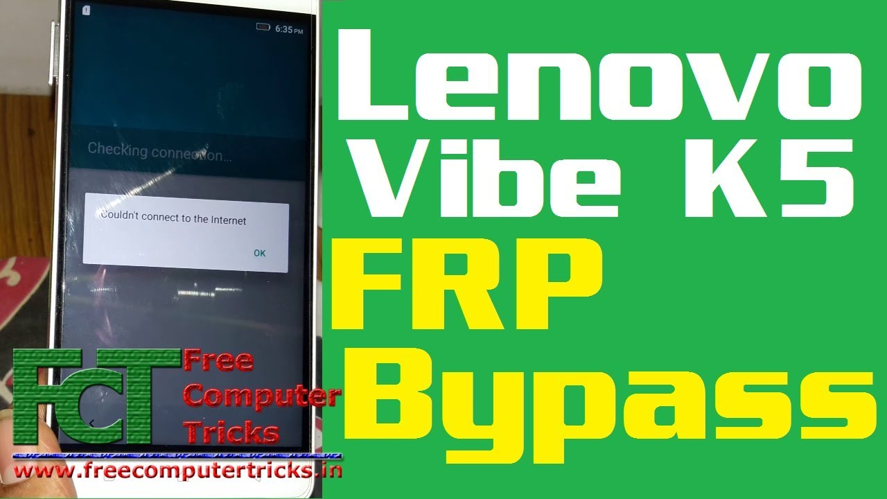 Lenovo Vibe K5 Note A7020a48 FRP Bypass and Tool DL Image Failed Solution -  Android 6 0
