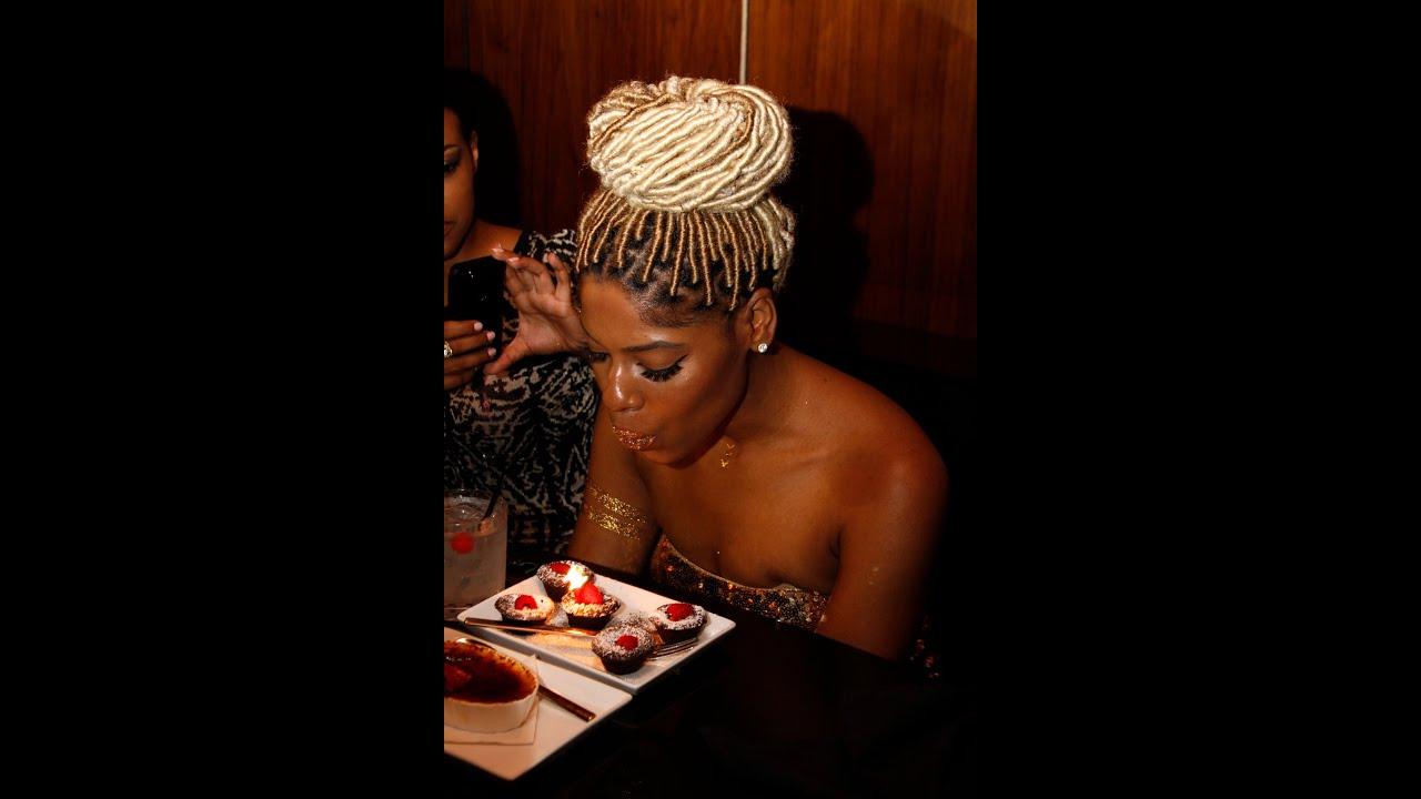 Birthday Makeup Tutorial Gold Glitter Lips Youtube