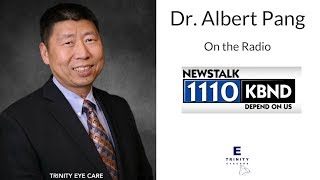 ⭐️Dr. Albert Pang, Optometrist in Plano, Texas live on the radio