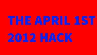 april 1st 2012 roblox hack...
