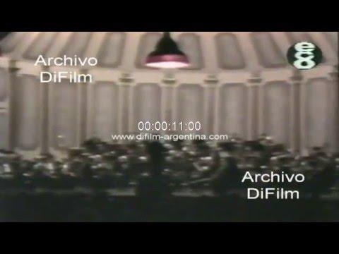 DiFilm - Carlos Salinas de Gortari y Carlos Menem en el Teatro Colon 1990