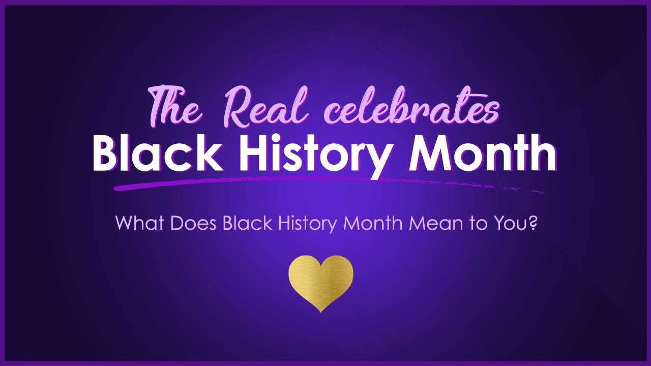 What Does Black History Month Mean To You Youtube