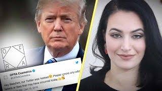 Progressives meltdown over OFRA Cosmetics liking Trump tweets