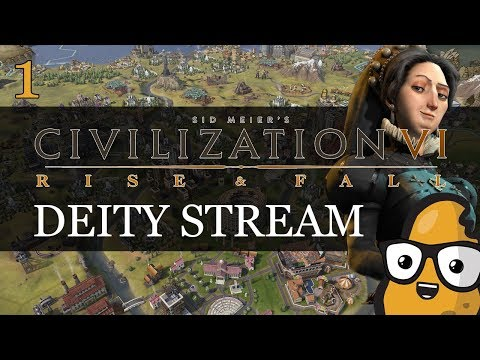 [Part 1] Turn 266 France Deity Culture Victory Civ 6 Rise and Fall Livestream