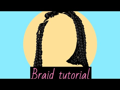 how to do braids tutorialsimple outline must watch