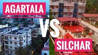 Agartala City vs Silchar City|| Comparison|| by Exploring the World