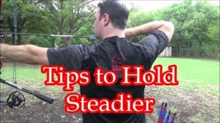 Tips to Hold Steądier on Target (TToTW#40)