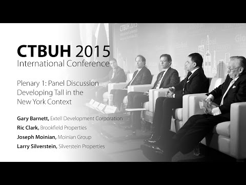 "CTBUH 2015 New York Conference - Panel Discussion, ""Developing Tall in the New York Context"""