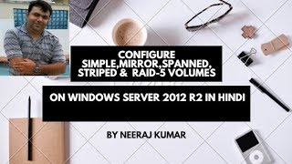 Configuring Simple,Mirror,Raid-5,Spanned and Striped Volumes