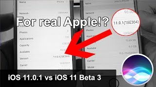iOS 11.0.1 First Hands-on vs iOS 11 Beta 3 - Could it Really Be?!