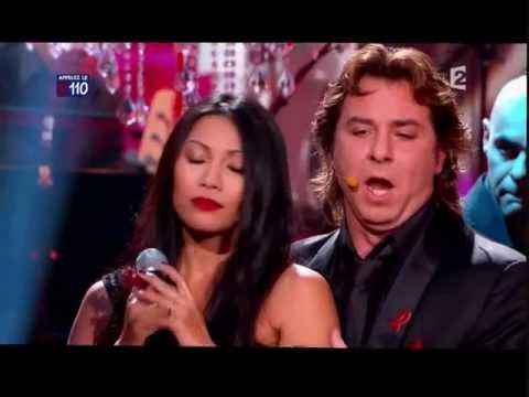 ANGGUN et Roberto ALAGNA - Historia De Un Amor - Sidaction 2011 (Live) france télévision