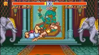 Street Fighter 2 Champion Edition (SNES) Balrog Gameplay
