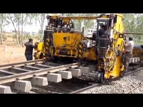 งานสร้างทางรถไฟที่อินเดีย