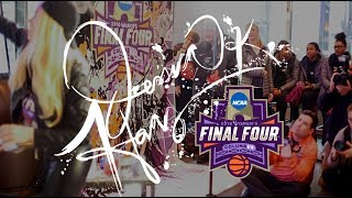 Jessica K. Haas Speedpaints for NCAA Final Four 2018