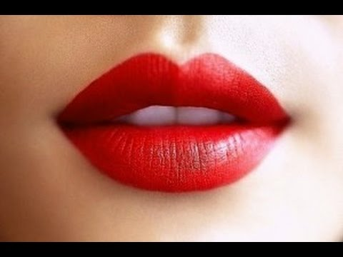 how to perfect big red lips makeup tutorial youtube