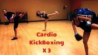 Cardio-KickBoxing X3. Rutina Quema-Grasa. www.trainermarcelo.com/es