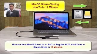 How to Clone MacOS Sierra to an SSD or Regular SATA Hard Drive in 11 Minutes
