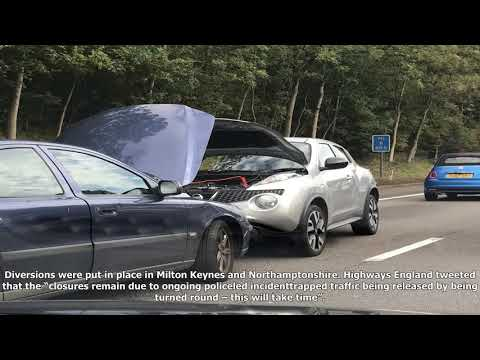 M1 motorway closure: no explosive element found in suspicious package