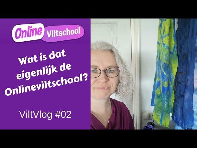 Viltvlog #02 Wat is dat eigenlijk de Onlineviltschool?