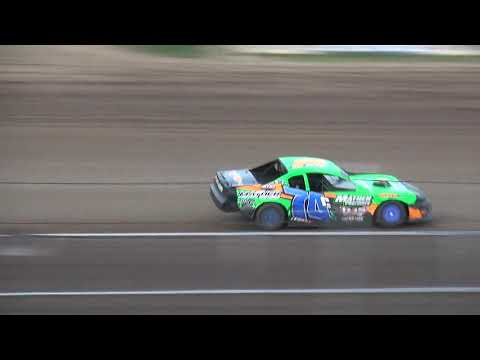IMCA Stock Car Heat 3 Independence Motor Speedway 7/27/19