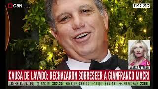 Causa de lavado: rechazaron sobreseer a Gianfranco Macri