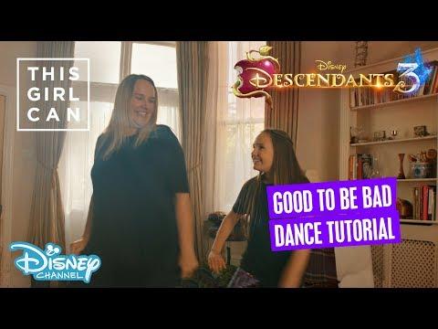 Descendants 3 | 'Good To Be Bad' Dance Tutorial