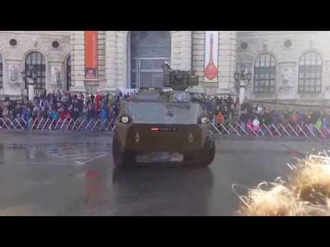 Bundesheer Leistungsschau - Panzervorführung -  Heldenplatz Wien 2015