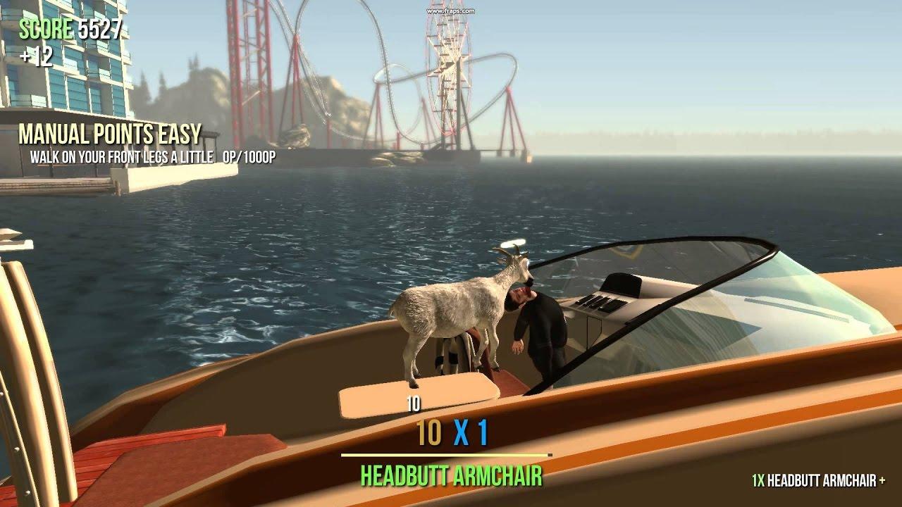 goat on a boat goat simulator 2 youtube