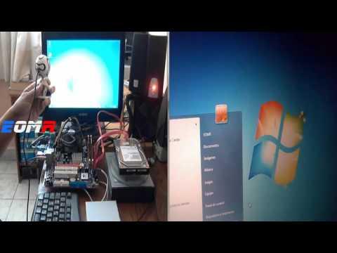 Tarjeta Madre Ecs 945GCT -M2 V1.0 Socket 775 Micro ATX Ram DDR2 Windows 7 Ultimate  64bits