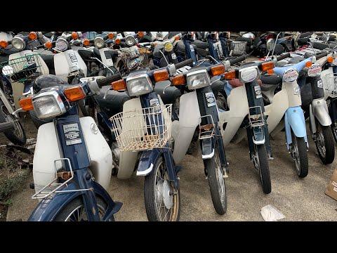 Honda Custom 50 70 90 Japanese Mopeds Junk Yard Super Cub Custom 50 70 90  Moto Scooter Mini Bike