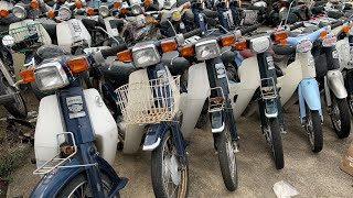 Honda Custom 50 70 90 Japanese mopeds junk yard Super Cub custom 50 70 90  Moto Scooter mini bike