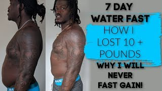 NO FOOD FOR 7 DAYS!! + HOW IT HELPED ME + BEFORE/AFTER PHOTOS || WEIGHT LOSS WEDNESDAY