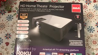 RCA HD Home Theater Projector …