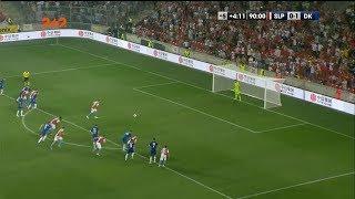 Славия – Динамо – 1:1. Гол: Гушбауэр (90+5')