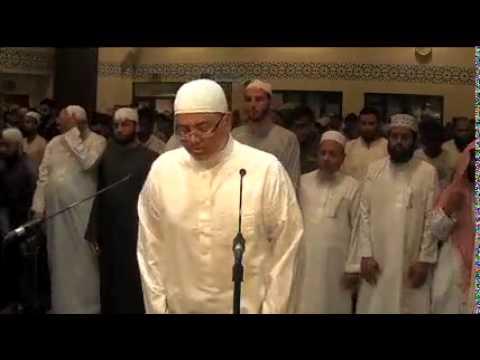 Kamran Hussain Leading ELM Tarawih in 2014 Ramadan