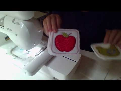 Embroidery It Sew Along Chicken Coaster