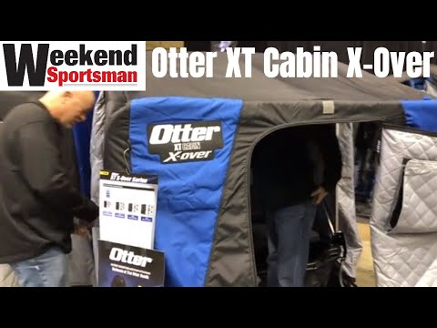 Otter XT Cabin X-Over Flip Over Ice Fishing House Shelter | Weekend Sportsman