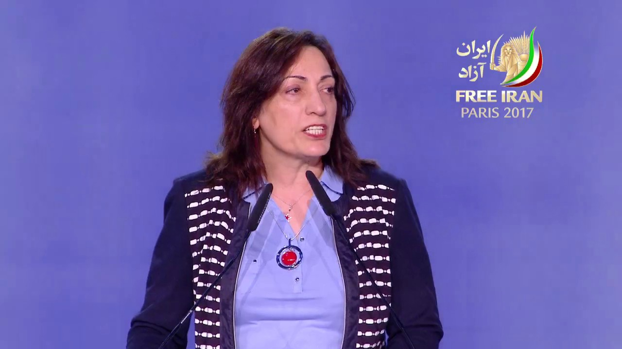 Speech by Zinat Mirhashemi in the Free Iran Gathering July  2017 in Paris