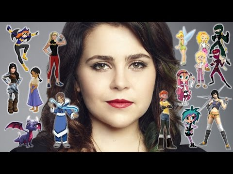 "Voice Showcase - ""Mae Whitman"""