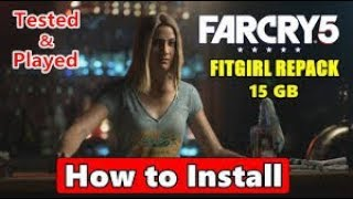 How To Download & install  FAR CRY 5  V1.4.0.0 [FitGirl Repack] Tested & Played