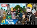 $1,000,000 FORTNITE TOURNAMENT -  PART 1 (ANIMATION) w/ BATMAN, RICK and MORTY AND MORE!