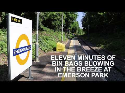 Eleven Minutes of Bin Bags Blowing in the Breeze at Emerson Park