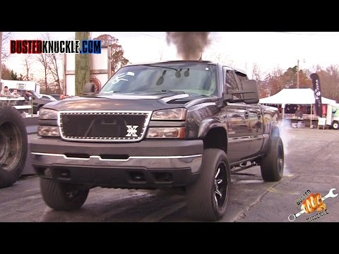 DIESEL DRAG RACING TRUCKS