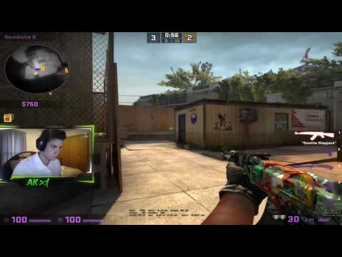 CSGO | The Eco Warrior..2v5 Clutch ACE | AK