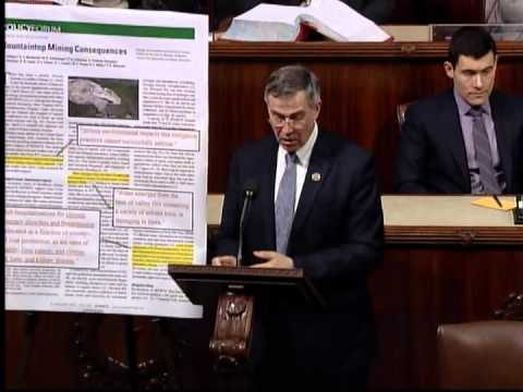 Rep. Holt on H.R. 2824 and the dangers of mountaintop removal mining
