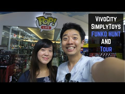 Vivocity Simply Toys Hunt & Tour: Grails on the Shelves! (Largest Pop Store in Singapore)