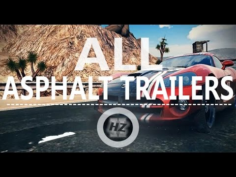 All Gameloft Asphalt Game Trailers (2004-2013)
