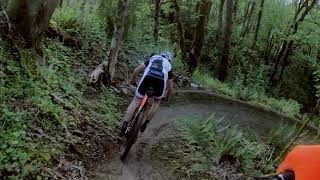 Trail #2 - Giant Slayer Descent (12 hours of Glenridge course preview 2019)
